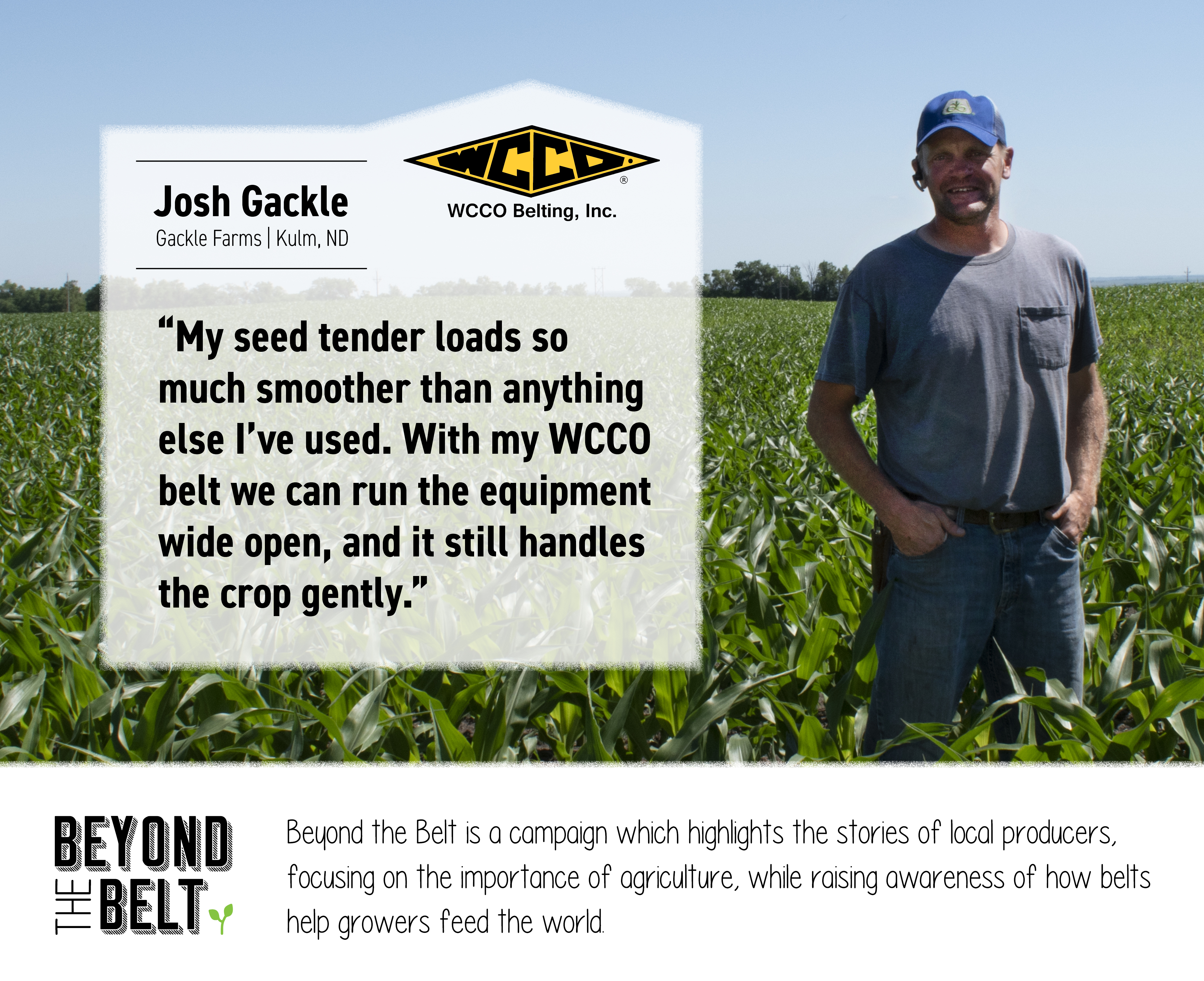 Beyond the Belt with Josh Gackle, Gackle Farms