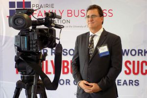 WCCO CEO/President, Tom Shorma, Featured Speaker at ND Family Business Forum, KFYR-TV Segment